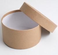 Коробка крафт круглая №3