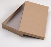 Коробка крафт №1 плоская
