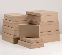 Коробка крафт №10 плотная