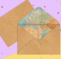Конверт Карта