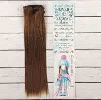 Волосы для кукол, тресс №6