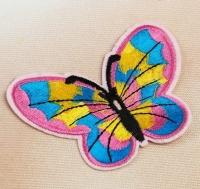 Термоаппликация, нашивка Бабочка