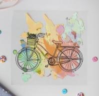 Термотрансфер Велосипед