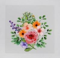 Термотрансфер Букет цветов №2