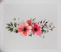 Термотрансфер Букет цветов №1