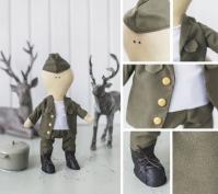 Набор для шитья куклы «Питер»
