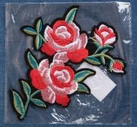 Термоаппликация, нашивка Розы