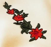 Термоаппликация, нашивка Изящные цветы