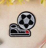 Термоаппликация, нашивка Футбол