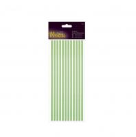 Объемные наклейки с блестками Neon зелёный