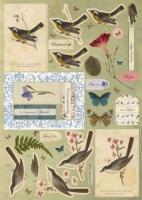 Набор для создания 4 открыток Natures Gallery