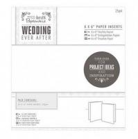 Набор вкладышей в открытку на свадьбу Wedding Ever After