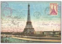 Бумага рисовая для декупажа Эйфелева башня