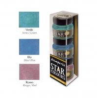 Набор красок «Star colours» для создания эффекта металла