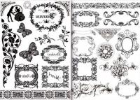 Набор переводных изображений (Transfer) «Версаль»