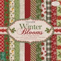 Набор бумаги для скрапбукинга «Winter Blooms»