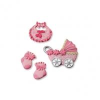 Декоративные украшения «baby girl» №1