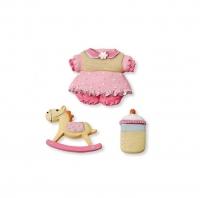 Декоративные украшения «baby girl» №2