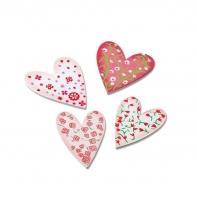 Набор декоративных элементов «Сердца»