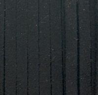 Шнур из искусственной замши (велюр) черный