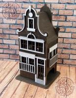 Чайный домик Голландия №1 цветной