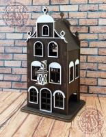 Чайный домик Голландия №2 цветной