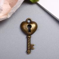 Подвеска «Ключ с замочной скважиной»