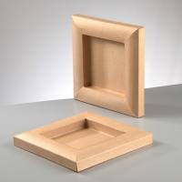 Рамка из картона квадратная, объёмная