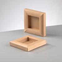 Рамка из картона квадратная маленькая, объёмная