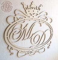 Свадебный герб. Монограмма.