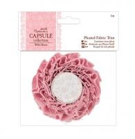 Шебби-лента Wild Rose розовая