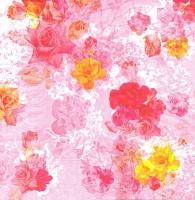 Салфетка для декупажа «Цветочная вьюга»