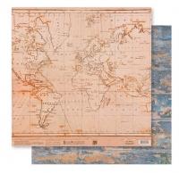 Бумага «Винтажная карта»