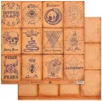 Бумага для скрапбукинга «Секреты алхимиков»