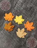 Листья из фетра Клен осенний