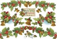 Бумага рисовая для декупажа Merry Christmas