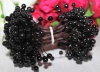 Букет ягод на проволоке черные