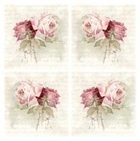Салфетка для декупажа Нежные розы-2