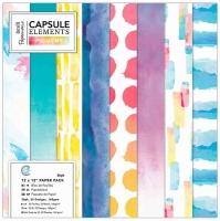 Набор бумаги для скрапбукинга Elements Pigment