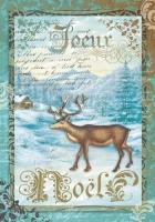 Бумага рисовая Рождественский олень