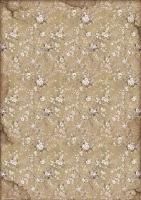 Бумага рисовая для декупажа Белые цветы