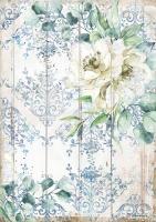 Бумага рисовая Морская мечта. Белый цветок