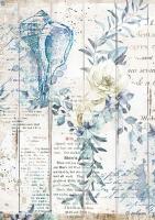 Бумага рисовая Морская мечта. Морская раковина