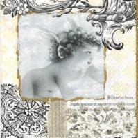 Салфетка трехслойная для декупажа №1018