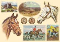 Бумага рисовая для декупажа «Лошади»