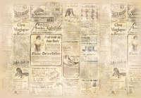 Бумага рисовая для декупажа «Газета»