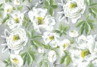 Бумага рисовая для декупажа «Белые розы»