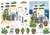 Бумага рисовая для декупажа «Средиземноморье»
