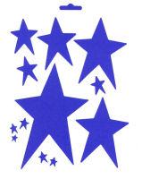 Трафарет звезд