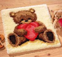 Набор для вышивания коврика «Я люблю тебя»